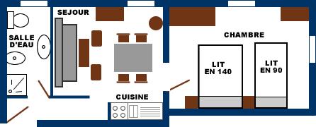 Location appartements et studios - Can Saqué - Hameau de La Preste les Bains